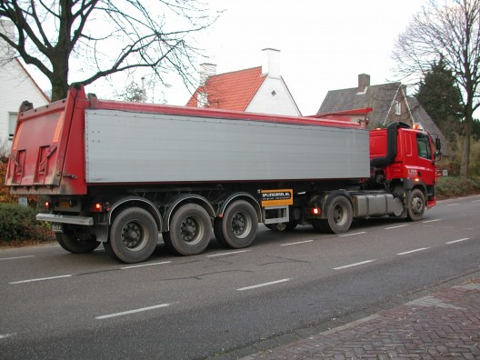 Transport van grind en split