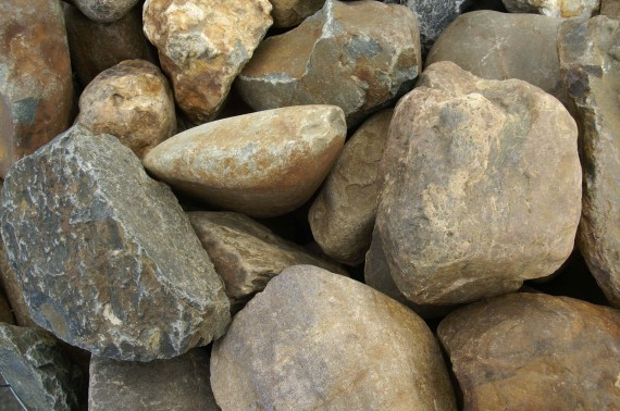 maaskeien bont 15-30 cm
